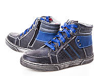 Модные высокие ботинки для мальчика(р32-37)
