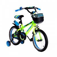 """Детский двухколесный велосипед 16"""" SW-17,салатовый"""