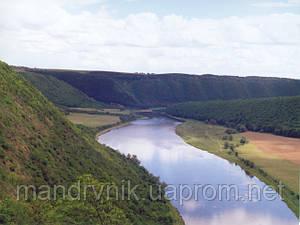 Панорама Дністра: Хмелева - Устечко - 20км.