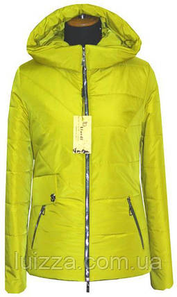 Короткая куртка на весну 42-56рр лимон 52, фото 2