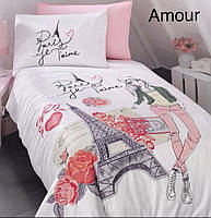 Постельное белье ранфорс First Choice  (полуторное) № Paris, фото 1