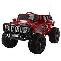 Детская машина электромобиль ДЖИП HUMMER красный автопокраска оптом и в розницу