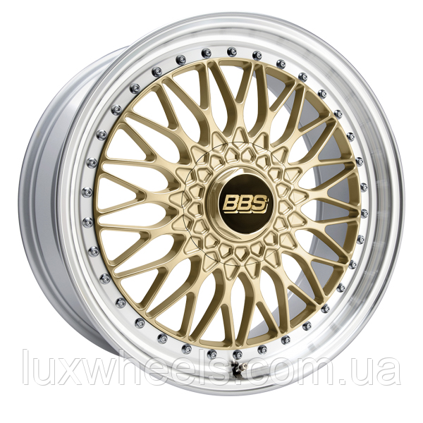 BBS SUPER RS Gold