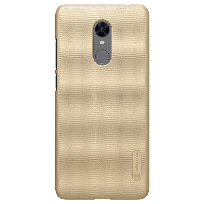 Nillkin Xiaomi Redmi 5 Plus Super Frosted Shield Gold Чехол Накладка Бампер
