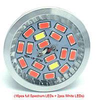 Фитолампа для растений Led 18 E27 230V Full Spectrum