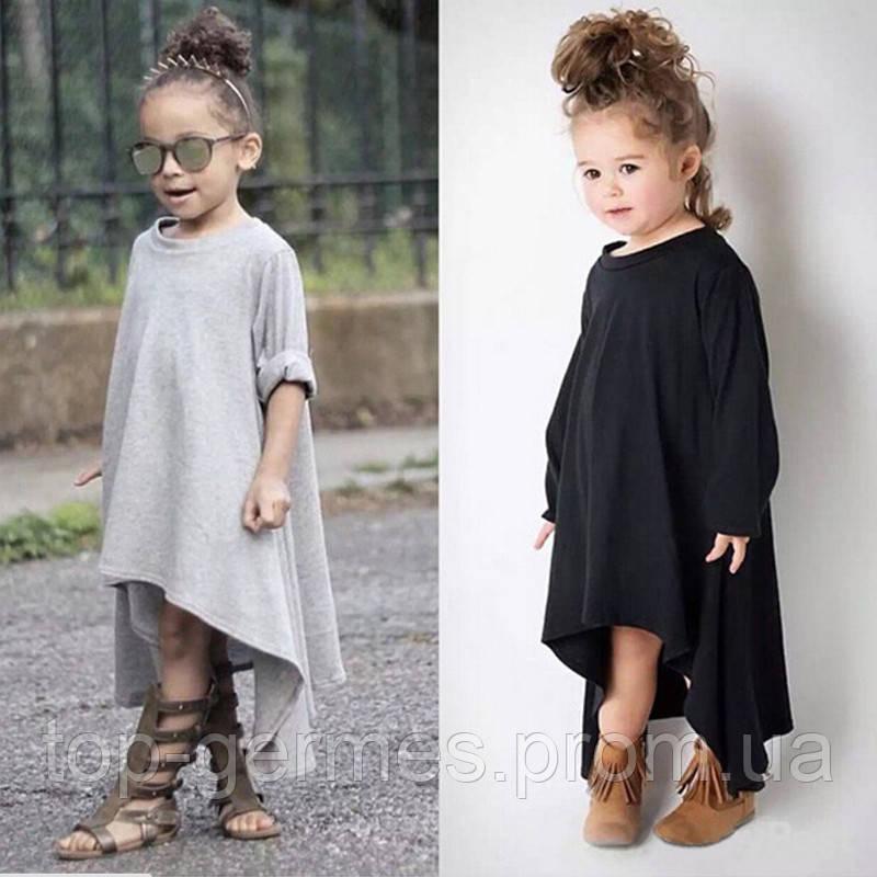 Детское макси-платье модель 2018г