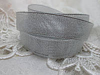 Парча 2 см срібло