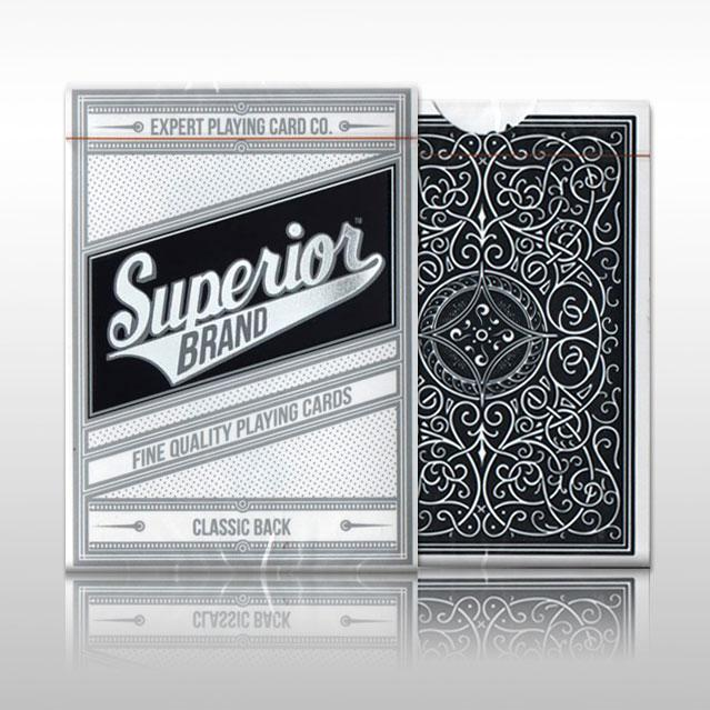 Карты игральные | Superior (Black) Playing Cards by Expert Playing Card Co