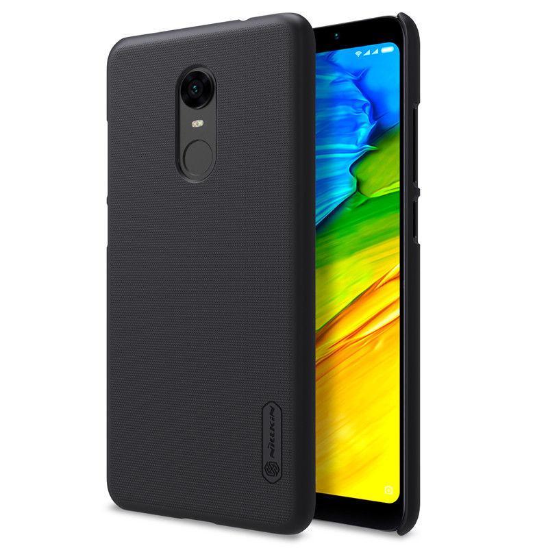 Nillkin Xiaomi Redmi 5 Plus Super Frosted Shield Black Чехол Накладка Бампер