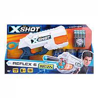 Бластер X-Shot швидкострільний EXCEL Reflex 3 банки, 8 патронів