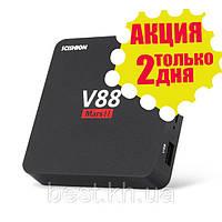 СМАРТ ТВ (smart tv box) приставка SCISHION V88 Mars II (Android 6.0, 2Gb\8Gb)