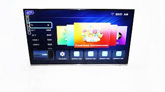 "LCD LED Телевизор JPE 40"" Smart TV, FHD 2K, WiFi, 1Gb Ram, 4Gb Rom, T2, USB/SD, HDMI, VGA, Android"