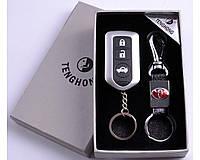 Подарочный набор (TOYOTA) 2в1 Зажигалка, Брелок №4430-6