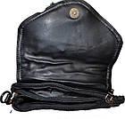 Женский клатч из натуральной кожи (14.5*19*3) , фото 5