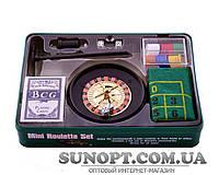 Покерный набор в металлической коробке №500Т-2