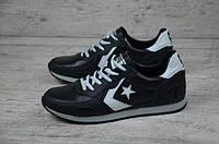 Мужские кожаные кроссовки Converse, фото 1