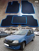 Коврики на Dacia Logan '04-12. Автоковрики EVA