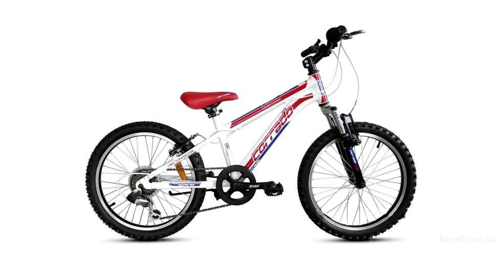 """Детский велосипед CORRADO MTB TAURUS 20""""  Белый/Красный"""
