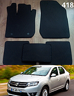 Коврики на Dacia Logan '13-н.в. Автоковрики EVA