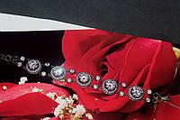 Браслет серебряный 925 женский с фианитами