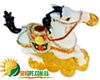 """Шкатулка ювелирная """"Лошадь"""" QF4567-2"""