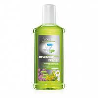 Кислородный профилактический ополаскиватель для полости рта Лечебные травы серии faberlic