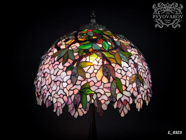 Настольная лампа Тиффани ручной работы