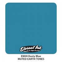 Краска для татуировочных работ Eternal  ink Muted Earth Tones. Dusty Blue 1/2 oz