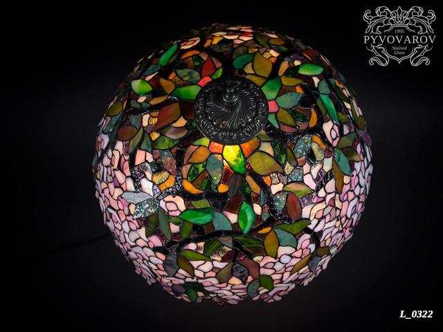 Настольный светильник тиффани ручной работы