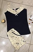 Пижама женская с шортами Bella Secret размер S,M,L,XL