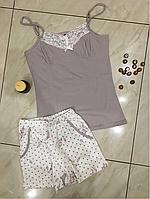 Пижама женская с шортами Bella Secret размер L,XL