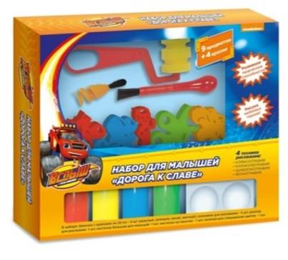 Набір для малюків з фарбами