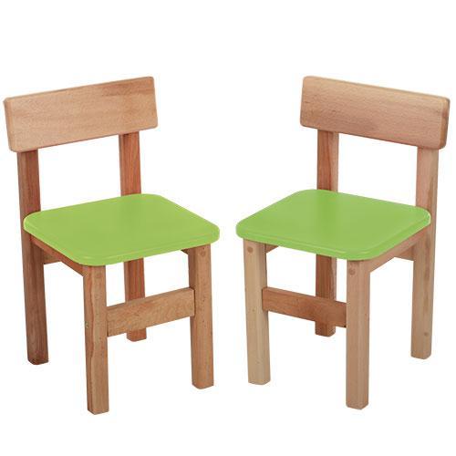 Стульчик F012 (2шт) деревянный,в52-ш31-г33см,сиденье28-28см,высота до сиденья30см,салатовый