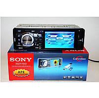"Автомагнитола Sony 3027 1DIN с экраном 3,6"" DivX mp5, mp4, mp3, видео выход, магнитола"