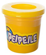 Тесто для лепки 3167-Ж (128шт) желтый, баночка с крышкой, 1ящик - 1цвет, аром, 7-6,5-6,5см