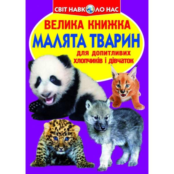 Велика книжка. Малята тварин (9786177277735)