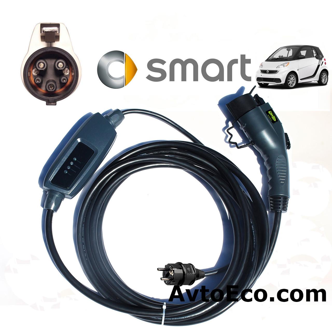Зарядное устройство для электромобиля Smart Electric Drive Duosida J1772-16A