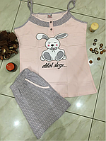 Пижама женская с шортами Bella Secret размер S,L,XL