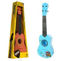 Гитара ZJ260-1C-2A (48шт) 55см, струны 4шт, 2 вида, в кор-ке, 21-56-7см