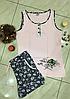 Пижама женская с шортами Bella Secret размер M