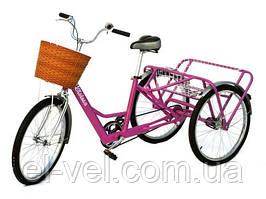 Трехколесный велосипед для взрослых 48В 500Вт