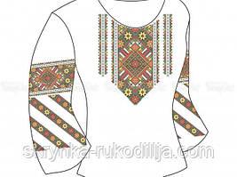 Заготовка для вишивки бісером/нитками дитячої сорочки