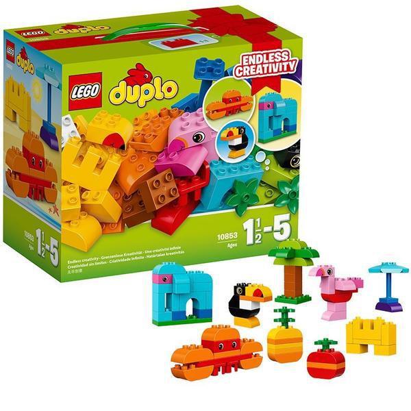 Конструктор Коробка з кубиками «Моя перша тварина»