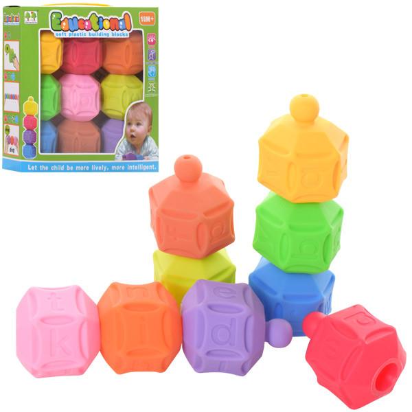 Игра CQS01 (48шт) кубики 9шт, конструктор, буквы(англ), в кор-ке, 19,5-19,5-6см