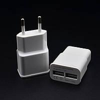 Зарядное устройство на 2 USB порта 5V / 2A