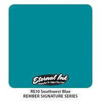 Краска для татуировочных работ Eternal  ink Rember Set. Southwest Blue 1/2 oz