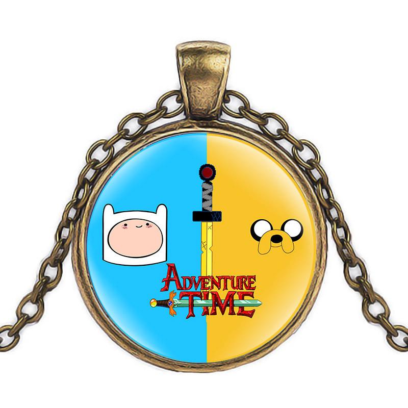 Кулон Adventure time героический Финн Время приключений бронзовый