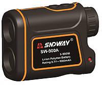 Лазерный оптический дальномер SNDWAY SW-900A до 900 метров с аккумулятором, фото 1