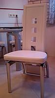 Комплект кожаних стульев для гостиной, столовой из Европы.  Цена за штуку. 6шт.