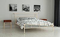 Кровать Диаз 140х200, Металлическая кровать полуторная Мадера, выбор цвета Доставка по Украине 250гр